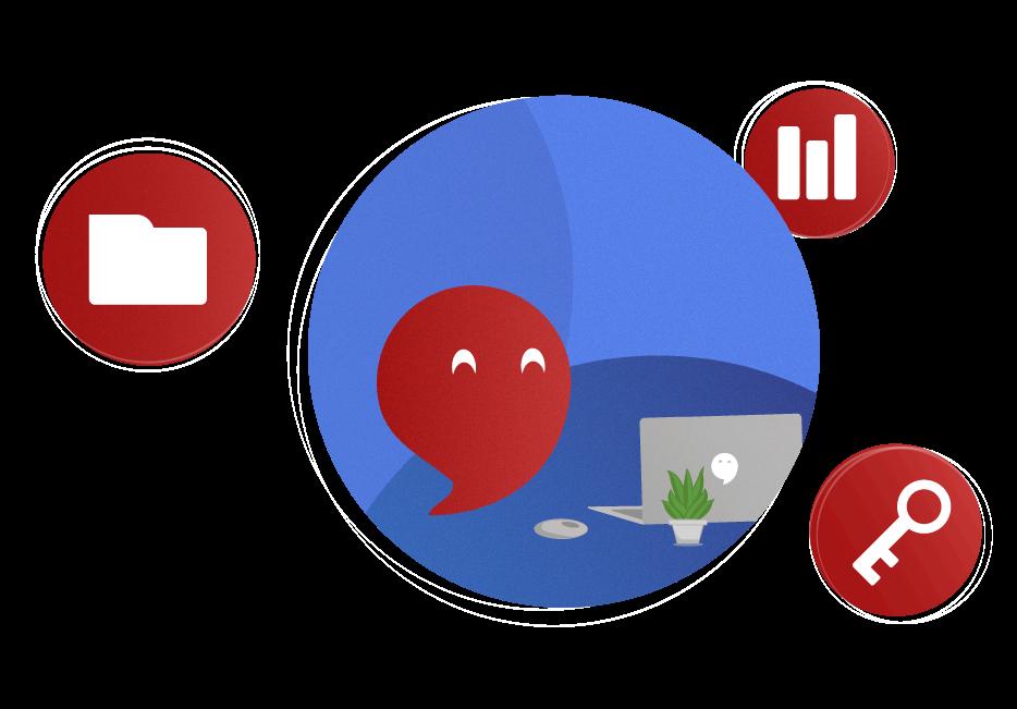 DER SEMINAR CAMPUS ist eine Homeoffice-Plattform basierend auf Nextcloud. Sie ist eine Alternative zu Microsoft Teamns, Zoom oder Cisco Webex.